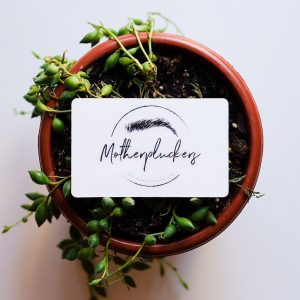 eyebrows and beauty services gift card motherpluckers brow bar