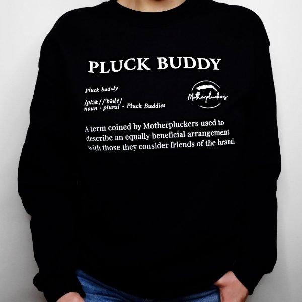 motherpluckers merchandise crew neck sweater